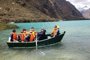El parque nacional Huascarán, uno de los principales atractivos turísticos de la región Áncash, reabrió para recibir a los visitantes. Foto: ANDINA/Difusión