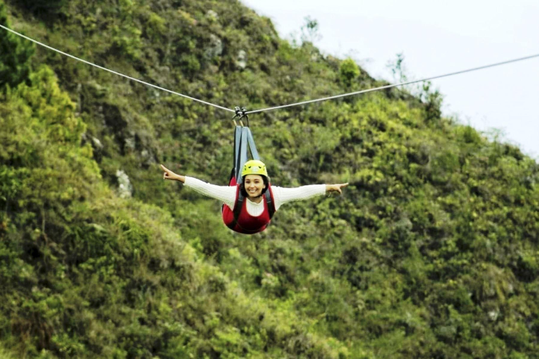 Como parte de la fase 4 de la reactivación económica, la provincia de San Ignacio (Cajamarca) reanudó el servicio de turismo de aventura. Foto: ANDINA/Difusión