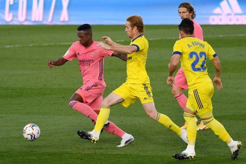 Real Madrid pierde 1 a 0 ante el Cádiz