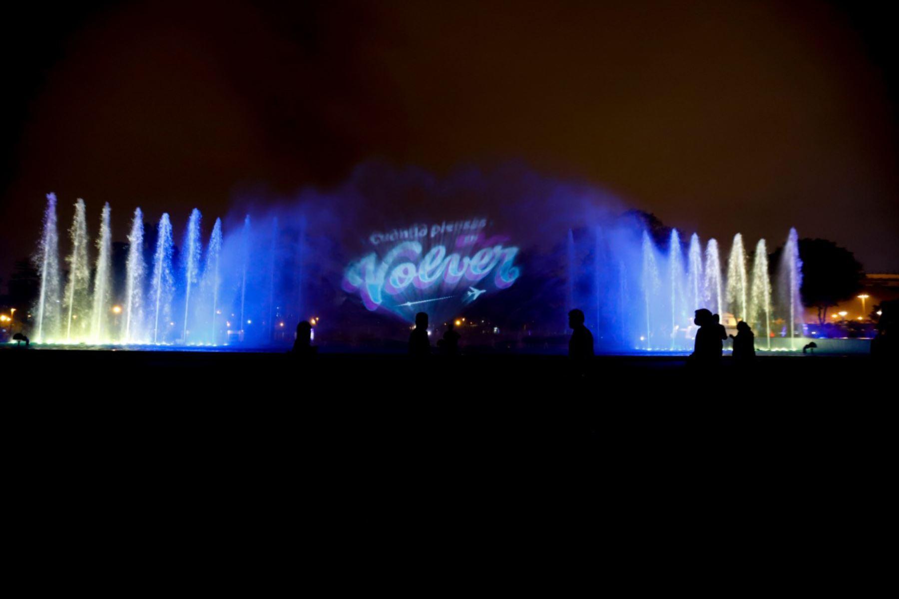 """Lanzamiento de la Campaña de Turismo Interno """"Volver"""", en el Circuito Mágico del Agua . Foto : ANDINA/ Prensa Presidencia"""