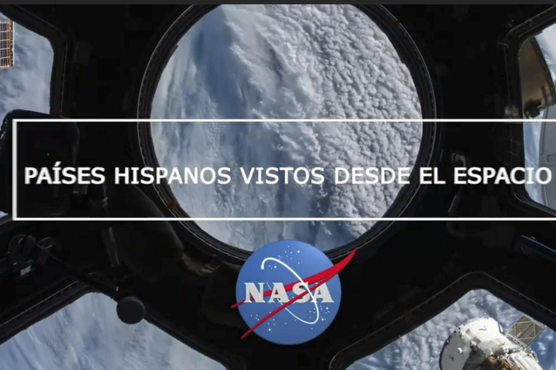 La NASA publicó un video con espectaculares vistas de países de Hispanoamérica, entre ellos Perú.