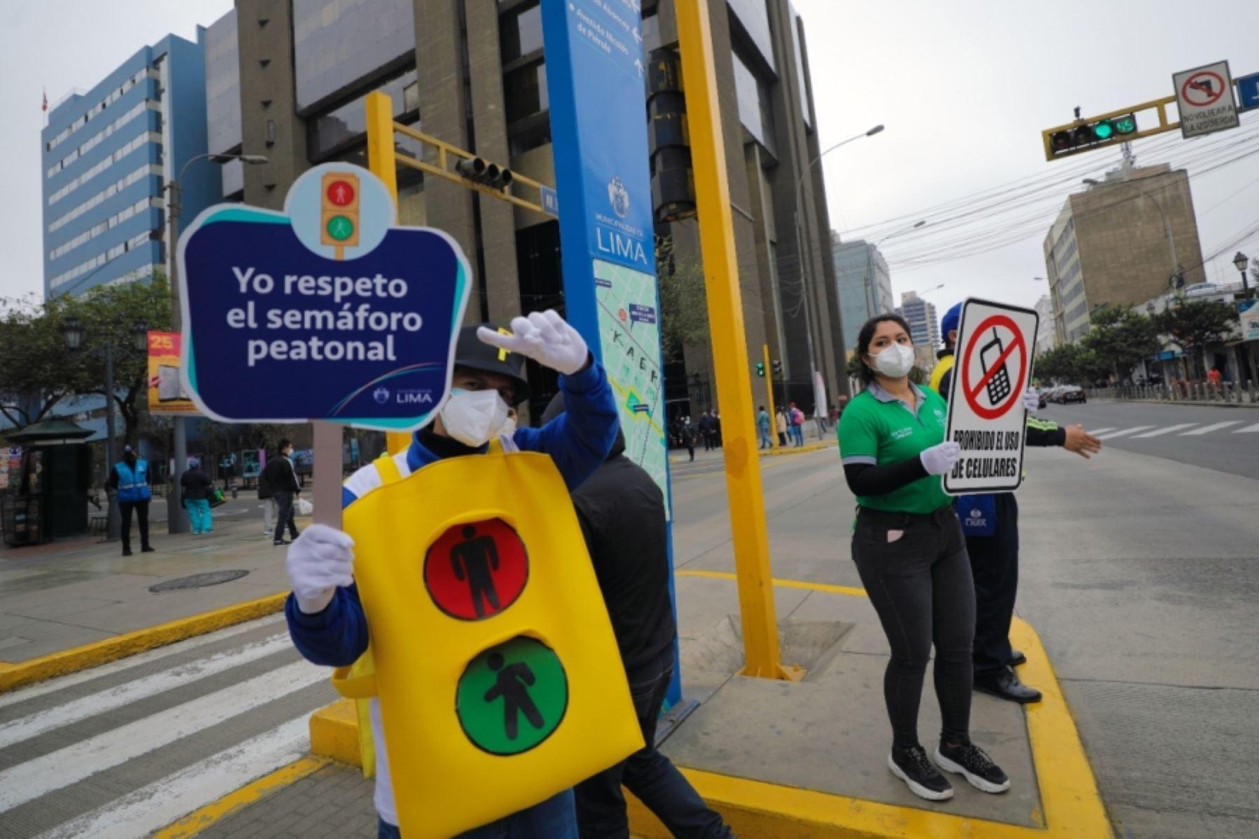 Día de la seguridad vial: ofrecen actividades educativas para la familia. Foto: ANDINA/Difusión.