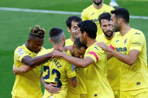 Villarreal vence 2- 1 al Valencia por la Liga Santander