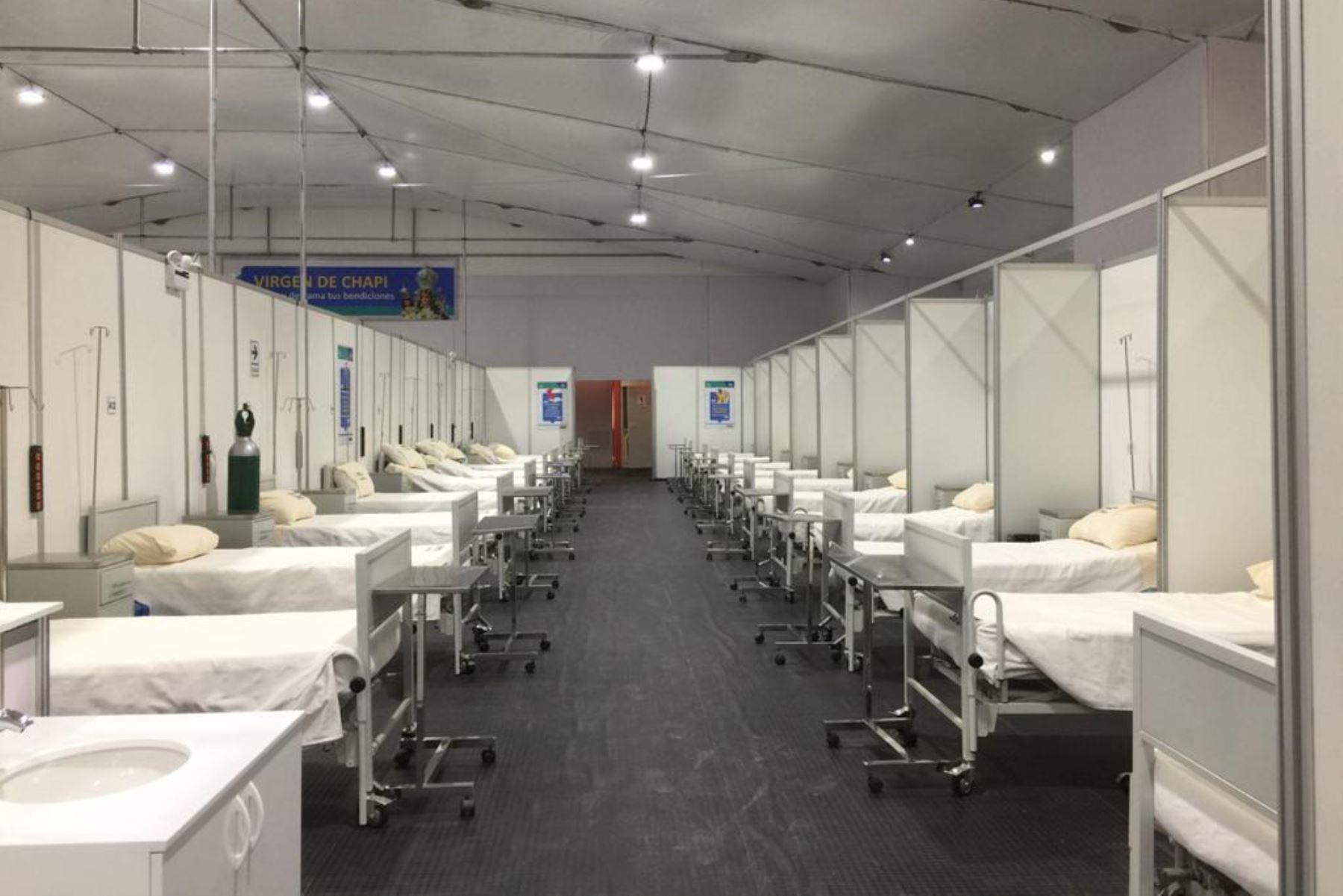 La disponibilidad de camas en Arequipa obedece a que en las últimas semanas se ha observado un descenso sostenido de pacientes con el virus. Foto: ANDINA/Difusión