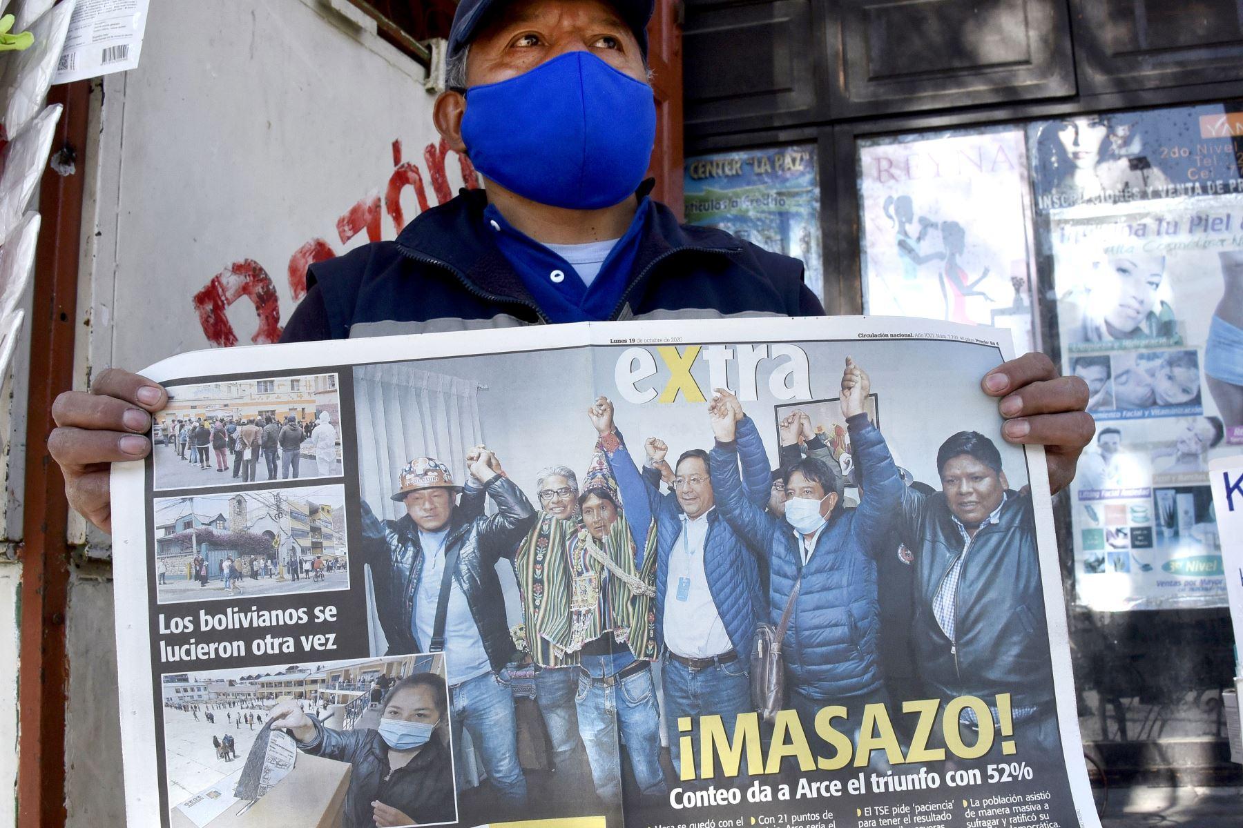 Líderes latinoamericanos saludan triunfo de Luis Arce en Bolivia | Noticias