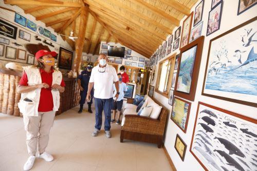 Ministra Barrios: servicios turísticos de Tumbes se preparan para su reapertura al turismo
