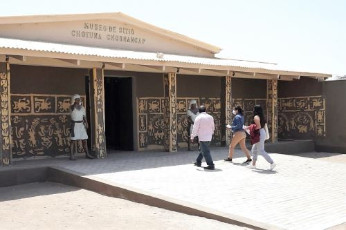 El museo de sitio Chotuna Chornancap, ubicado en Lambayeque, celebra el décimo segundo aniversario de creación. ANDINA/Difusión