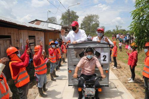Loreto: presidente Vizcarra participa de presentación del Núcleo Ejecutor del Proyecto Noa Jayatai