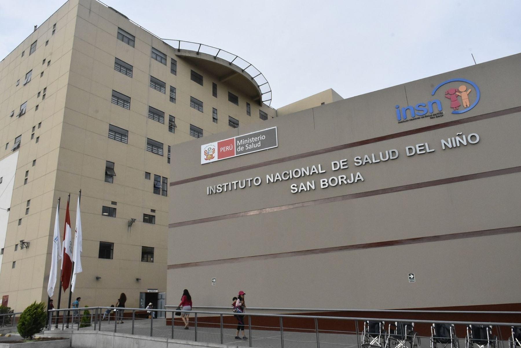 Califican al INSN San Borja como uno de los hospitales mejor equipados de la región  Destacan que centro pediátrico brinda tecnología médica del más alto nivel a favor de los niños del país