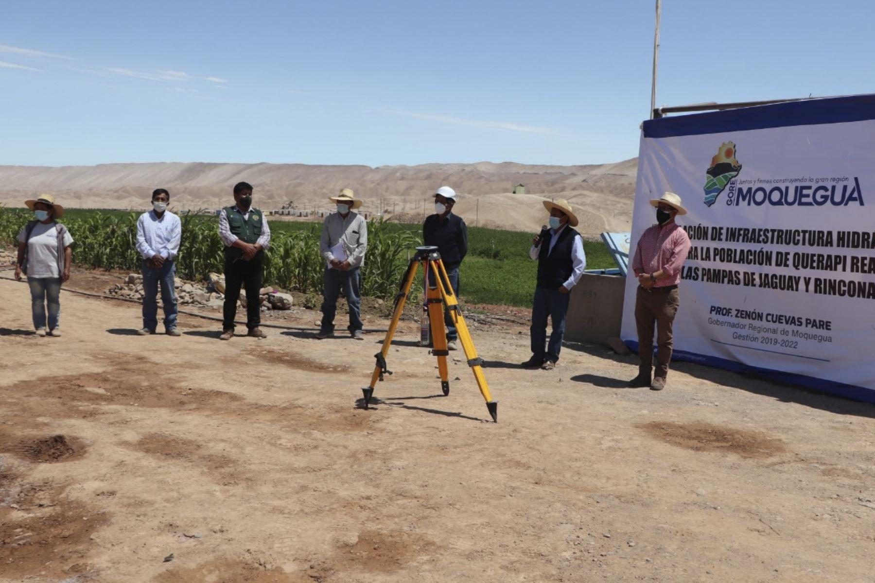 Avanza la reubicación definitiva del anexo de Querapi, ubicado en la región Moquegua. Foto: ANDINA/Difusión