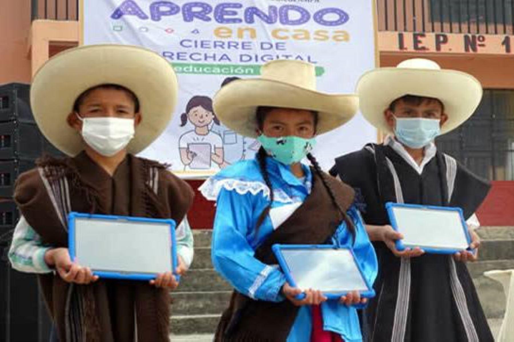sector educación dispondrá de más de S/ 32,000 mllns en el 2021. Foto: ANDINA/Difusión.