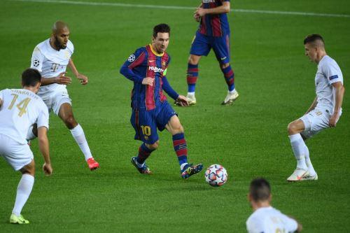Champions League: Barcelona goleó 5-1 al Ferencváros de Hungría