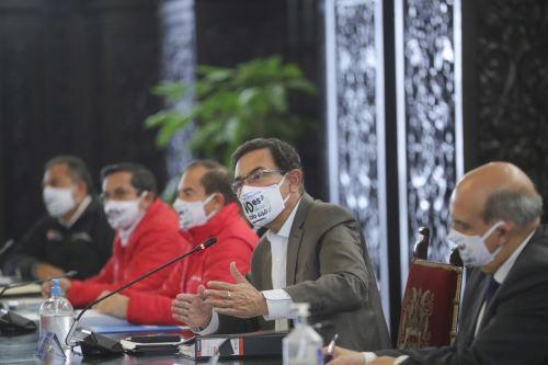 Presidente de la República, Martín Vizcarra, encabezó el lanzamiento de la campaña del Ministerio del Ambiente: Nuestro planeta no es de un solo uso