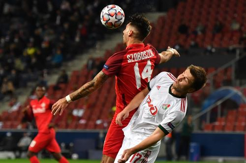 Salzburg y Lokomotiv igualan 2 - 2 por la Liga de Campeones de la UEFA