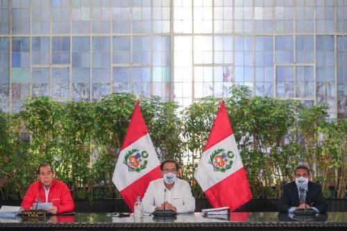 El presidente de la República, Martín Vizcarra, participa en la presentación del Diseño de la Política Nacional de Transformación Digital