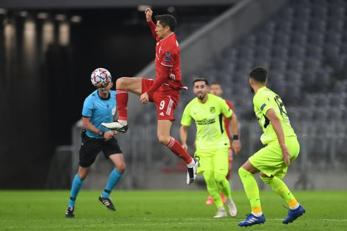 Champions League: Bayern Munich ganó 4-0 al Atlético de Madrid