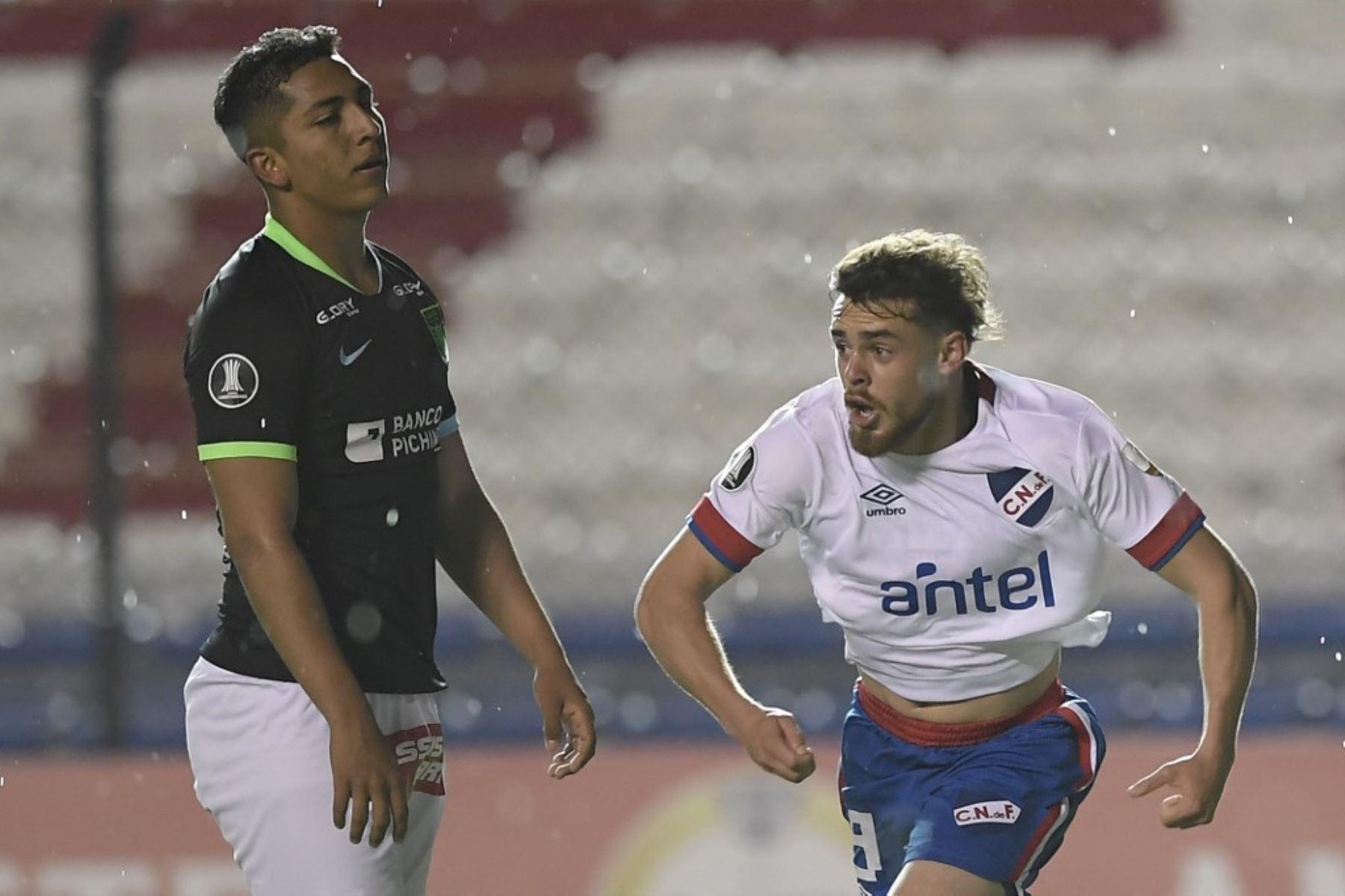 Alianza Lima perdió frente al Nacional de Montevideo, en una fecha válida por el Grupo F de la Copa Libertadores de América. Foto: AFP