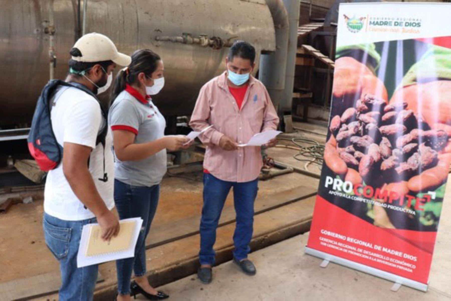 Se invertirán más de 700,000 soles en productores de castaña de la región Madre de Dios. Foto: ANDINA/Difusión