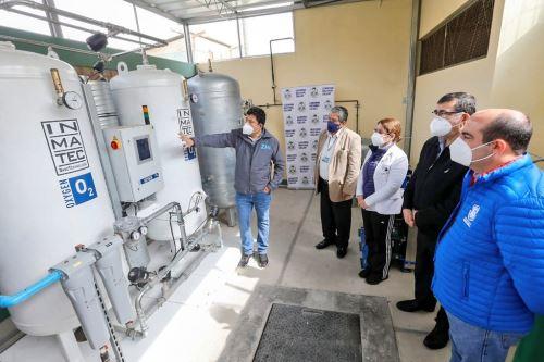 Covid-19: Minsa recibe donación de 4 plantas de oxígeno por parte del Gobierno Regional del Callao