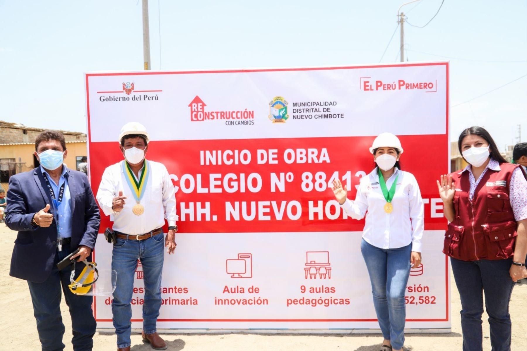 La directora ejecutiva de la ARCC, Amalia Moreno, anunció que se ejecutan las primeras licitaciones para obras en diez provincias de Áncash. Foto: ANDINA/Difusión