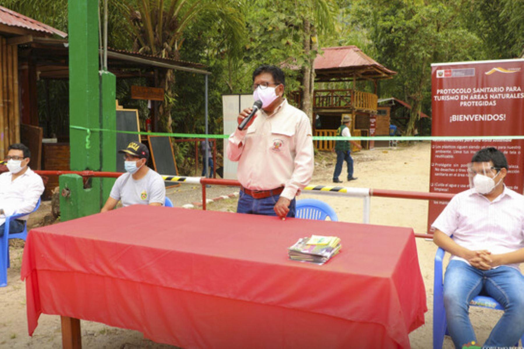 Huánuco inicia su actividad turística con la apertura del Parque Nacional Tingo María. Foto: ANDINA/Difusión