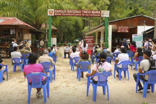 Huánuco inicia su actividad turística con la apertura del Parque Nacional Tingo María