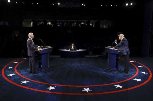 EE.UU: Trump y Biden se enfrentan en su último debate a 12 días de las elecciones