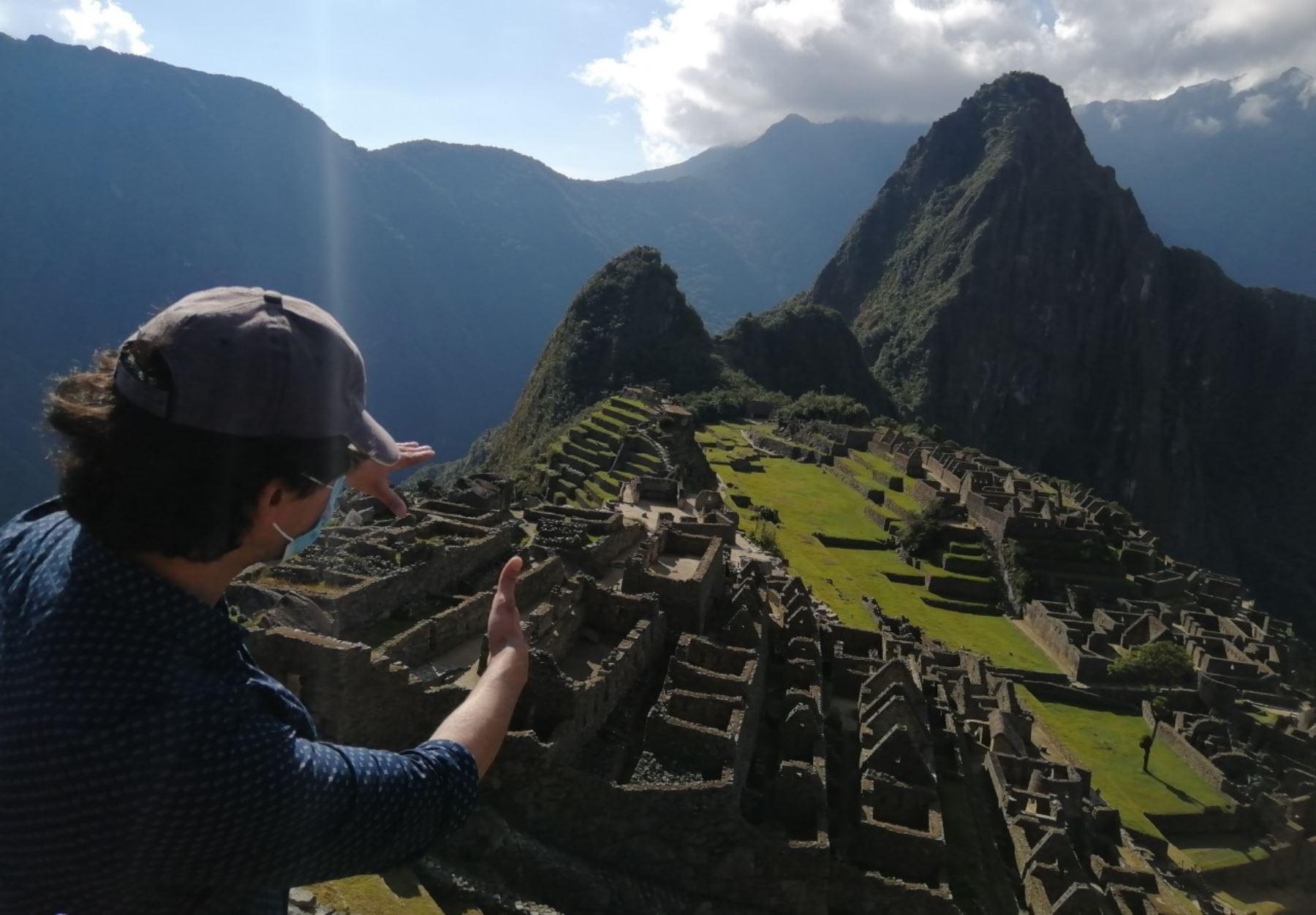 Las personas que visiten Machu Picchu deberán cumplir un riguroso protocolo que empieza desde su arribo a la ciudad de Cusco. ANDINA/Difusión