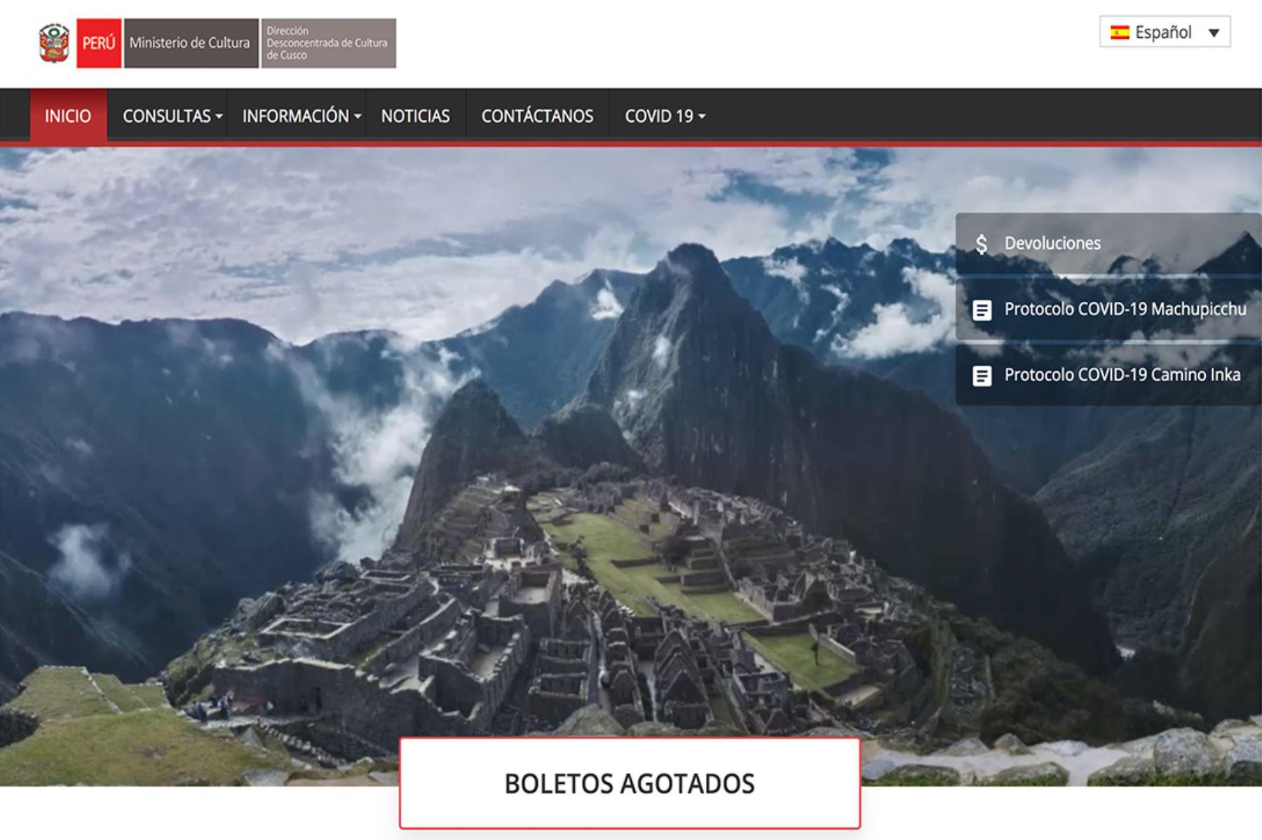 Ya se agotaron los boletos de ingreso gratuito a Machu Picchu para los primeros 15 días de noviembre.