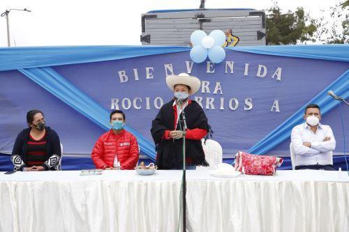 Cajamarca: ministra Barrios llegó al distrito de Querocoto y destacó potencialidad turística del Complejo Arqueológico de Pacopampa
