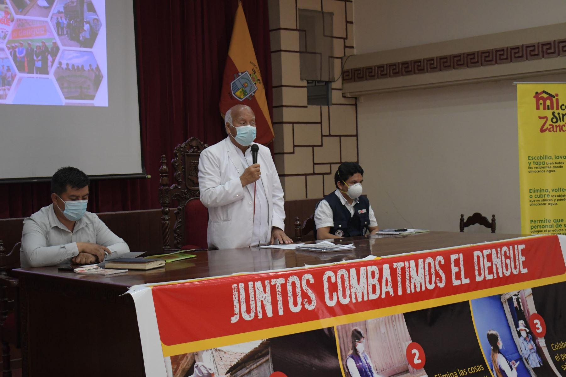 Autoridades regionales y municipales coordinan acciones para evitar brotes de dengue en Lambayeque. Foto: ANDINA/Difusión