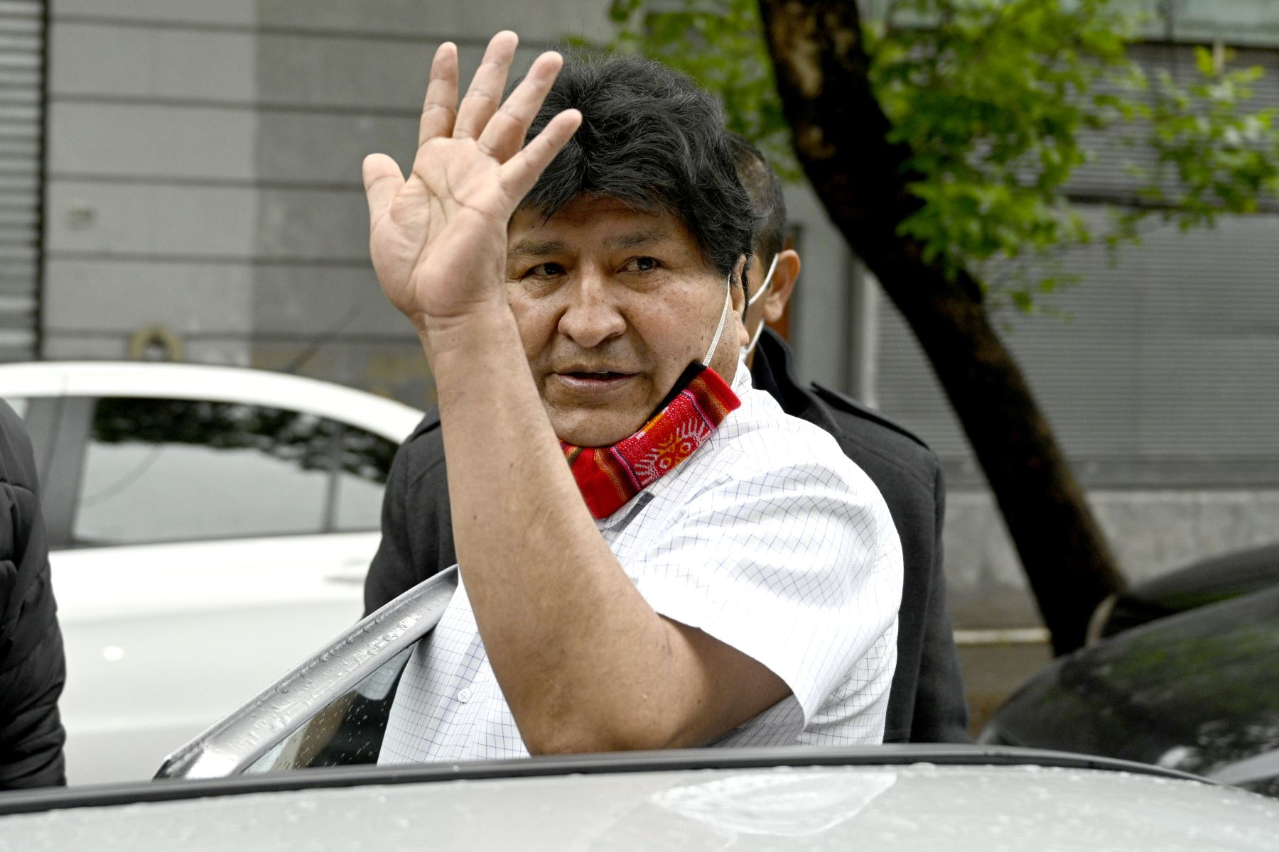 """El lunes de esta semana, Morales dijo en una rueda de prensa que """"tarde o temprano"""" volverá a Bolivia. Foto: AFP"""