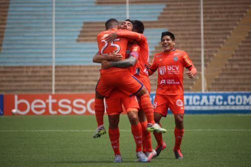 Liga 1: Club Cesar Vallejo gano 3 -2 a C. Mannucci