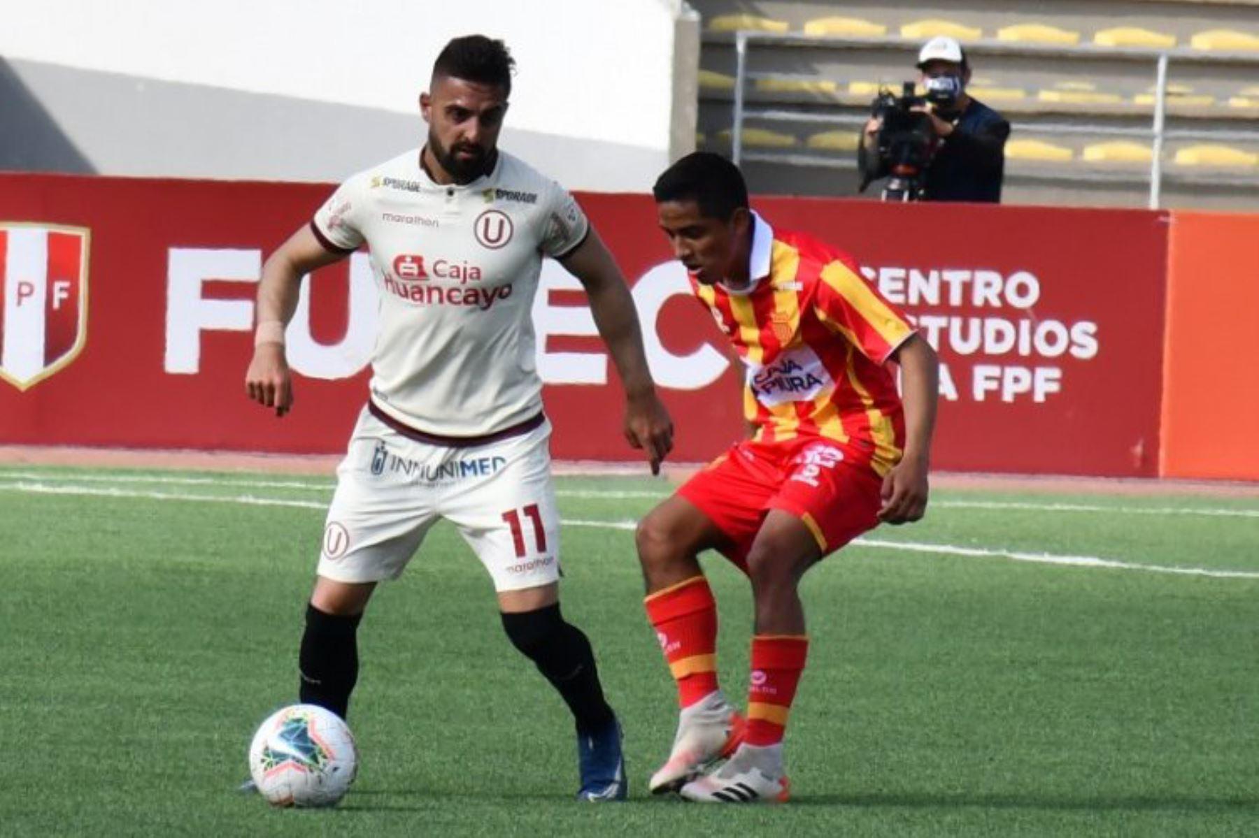 Universitario de Deporte empata 0 a 0 con Atlético Grau,  en partido de la fecha 1 Fase 2 de la Liga Movistar, en el estadio UNMSM. Foto: ANDINA/ Liga 1