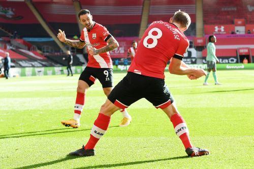 Southampton vence 2 - 0 a Everton por la Premier League