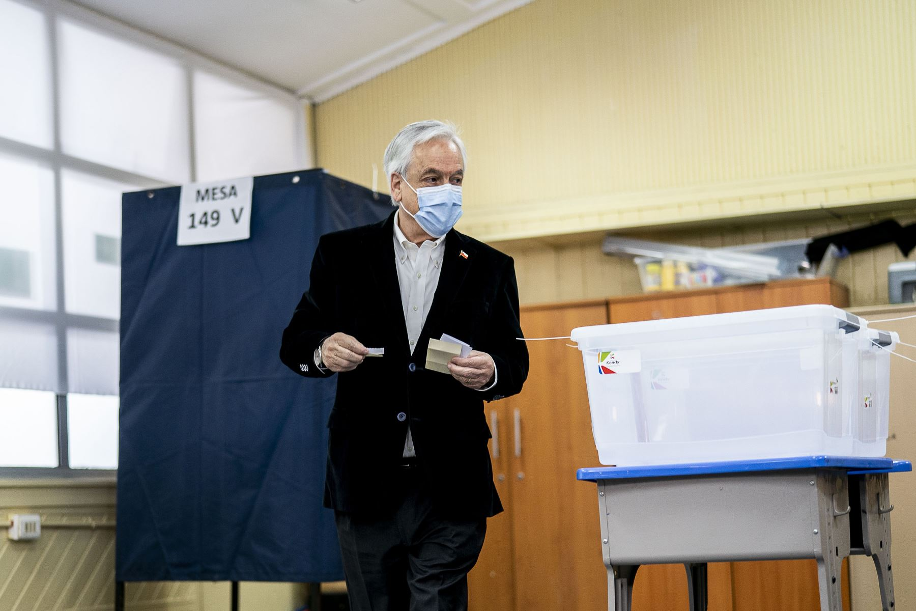 Presidente de Chile, Sebastián Piñera (imagen de archivo). Foto: AFP.