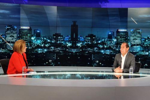 Premier Walter Martos brinda entrevista al programa Punto Final