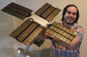 Sergio Santa María es parte de la misión BioSentinel que medirá los efectos de la radiación del espacio profundo en los organismos vivos (Fotos: Archivo personal)