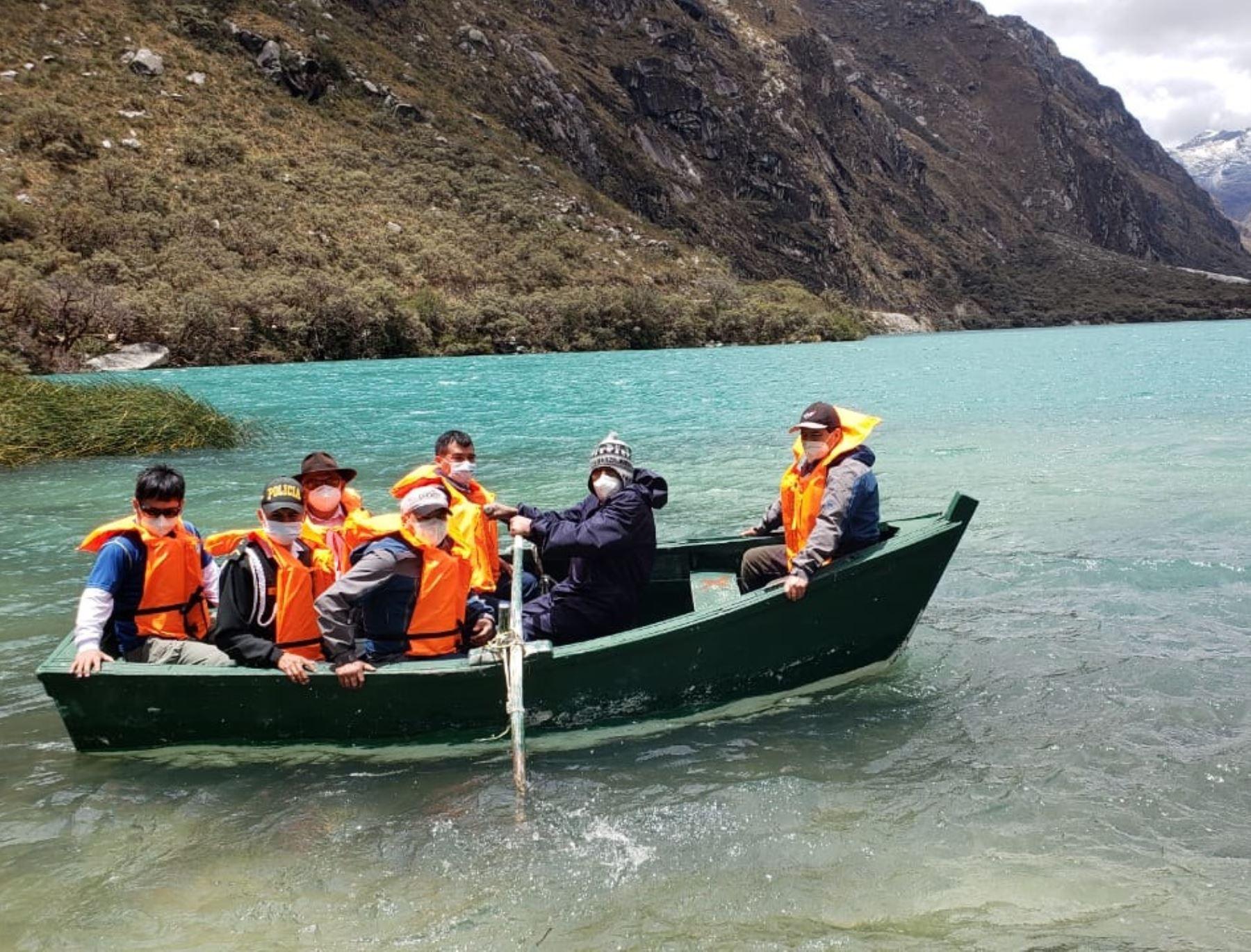 Más de 1,000 personas visitaron el Parque Nacional Huascarán en la primera semana de reapertura de este importante destino turístico de Áncash. ANDINA/Difusión