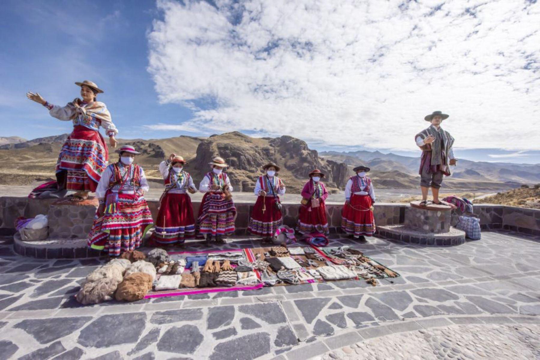 El valle del Colca es uno de los principales atractivos turísticos de la región Arequipa. Foto: ANDINA/Difusión