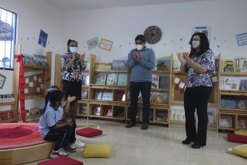 """Minedu promueve la lectura con el proyecto Bibliotecas comunitarias y """"Leemos juntos"""""""