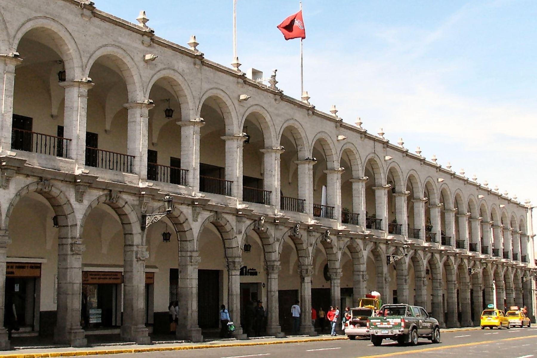 Sede municipal de Arequipa, en imagen de archivo.
