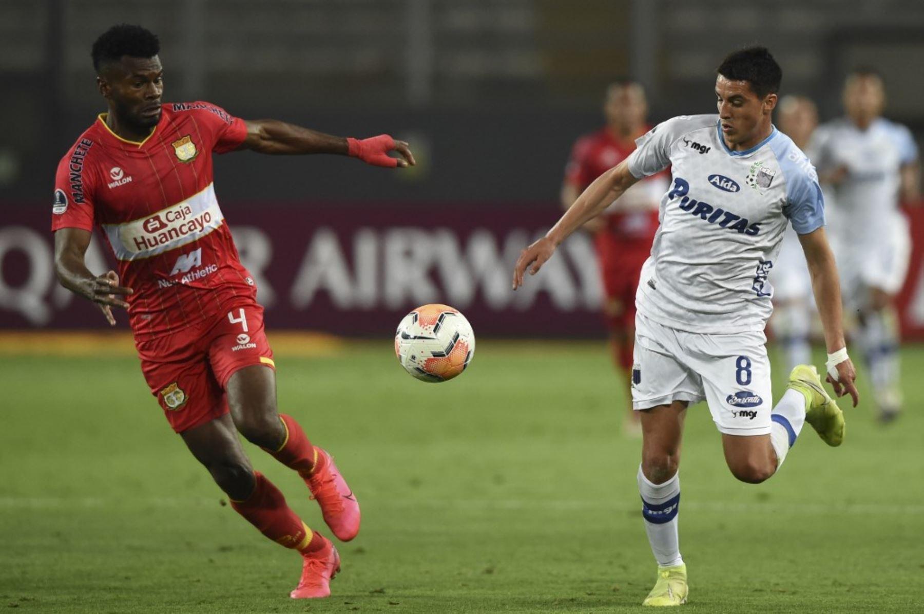 Sport Huancayo igualó 1-1 con el Liverpool de Uruguay por la Copa Sudamericana
