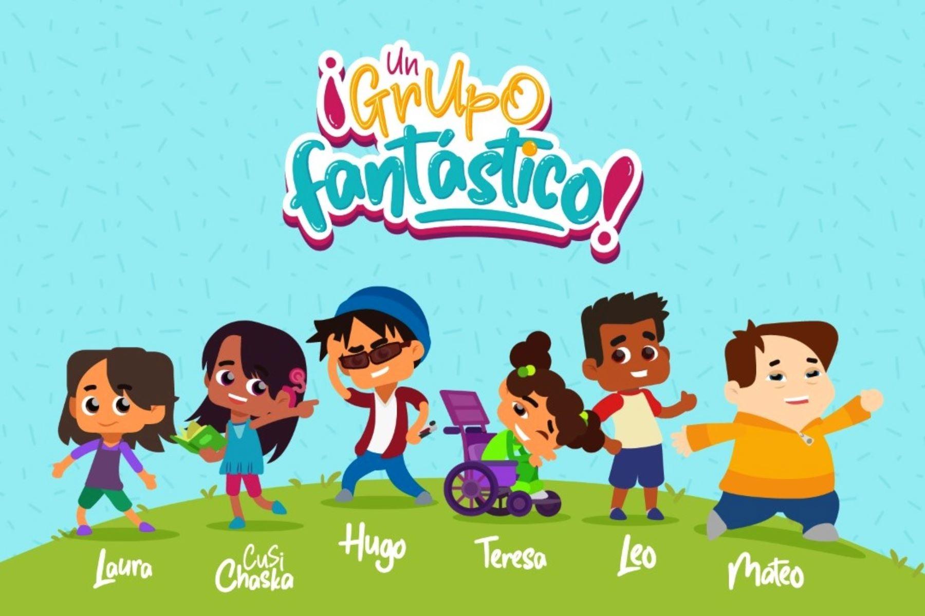 Aprendo en casa tendrá serie animada para estudiantes con discapacidad | Noticias