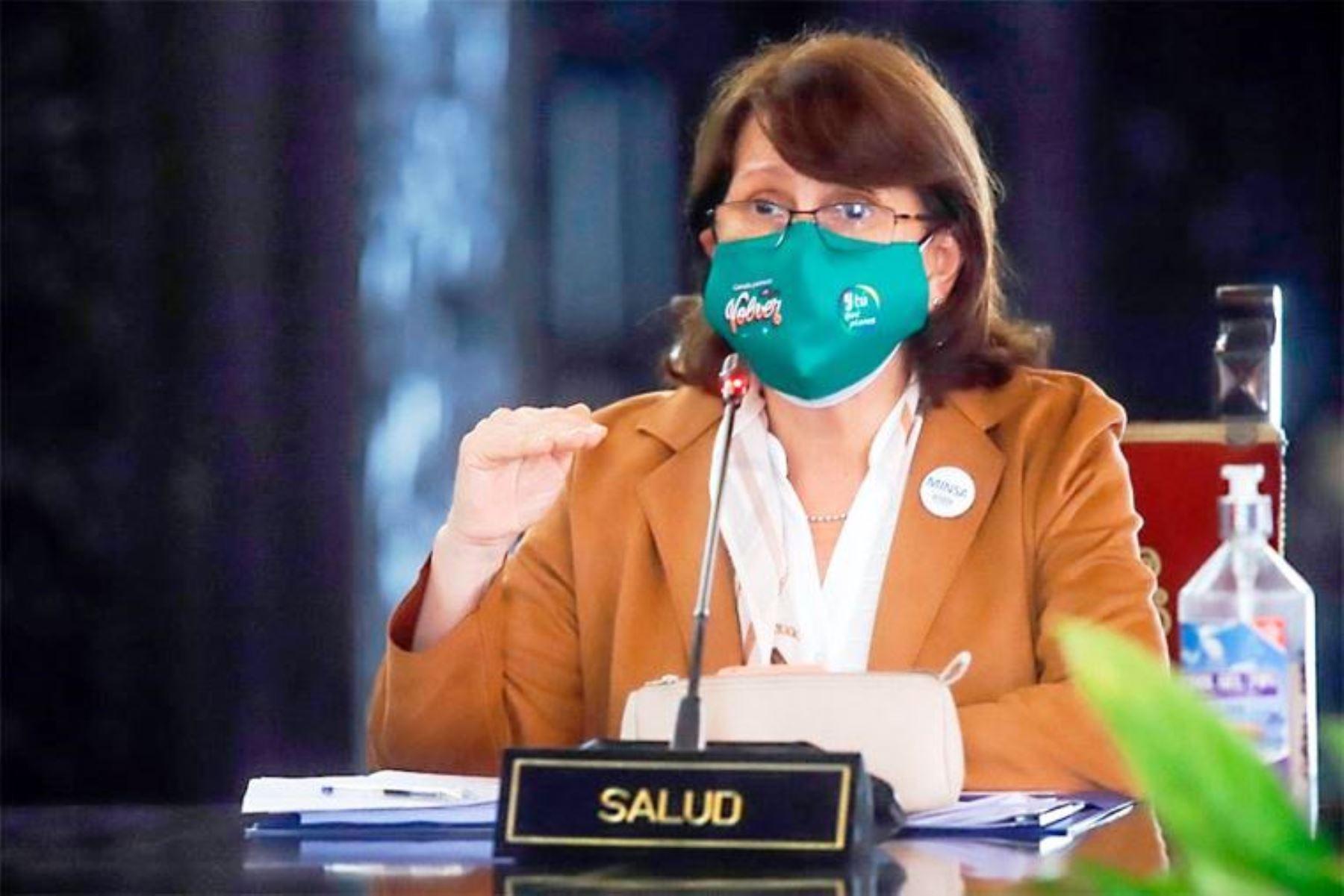 Mazzetti pide evitar reuniones y salida de niños en Halloween y Día de la Canción Criolla. Foto: ANDINA/Difusión.