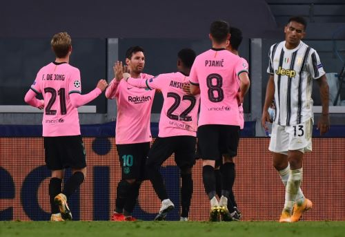 Barcelona gana 2-0 a la Juventus y sigue líder de grupo en Champions