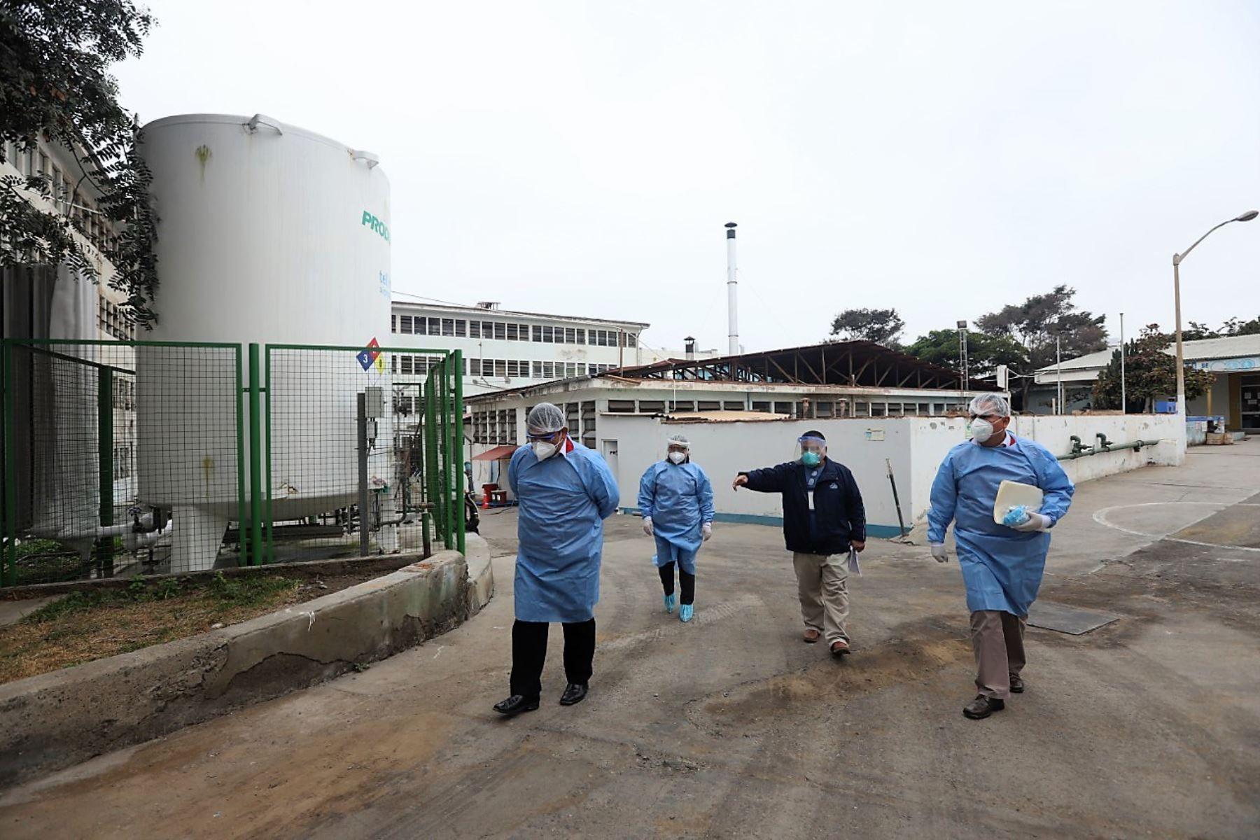 informe de Contraloría detectó deficiencias no atendidas en el Hospital Regional Docente de Trujillo. Foto: ANDINA/Difusión