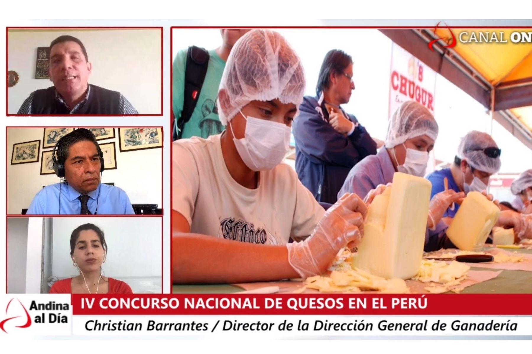 Director general de Ganadería del Minagri, Christian Barrantes, en