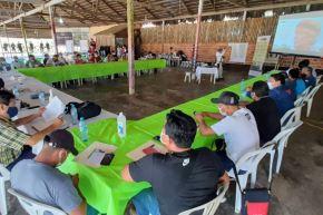 San Lorenzo, capital de Datem del Marañón, fue sede de la reunión de autoridades locales y del Ejecutivo como parte del comité gestor de monitoreo de intervenciones y resultados. Foto: ANDINA/PCM