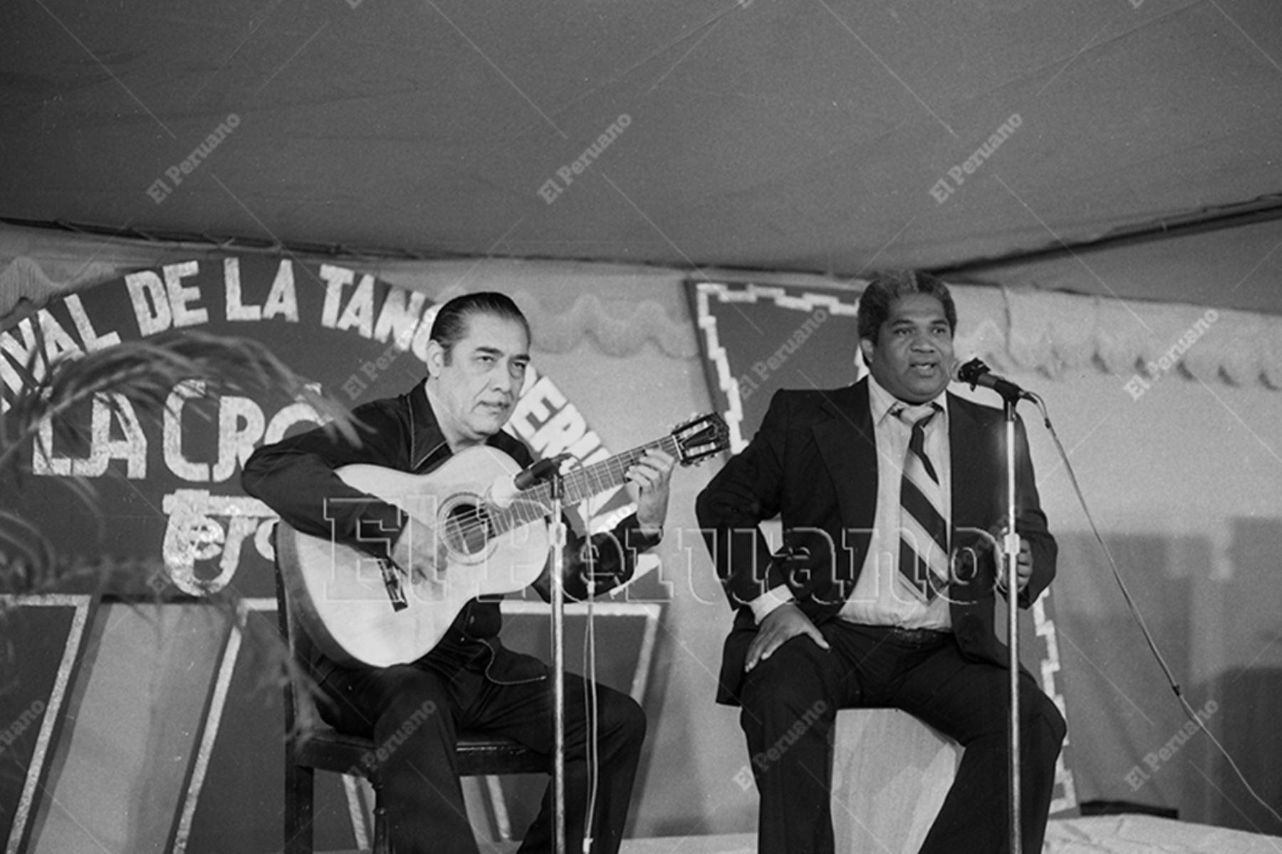 Foto: Archivo HIstórico del Diario Oficial El Peruano.